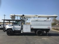 2008 GMC 60′ Terex Forestry Bucket Truck in Oregon $50,000