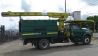 2007 Ford F750 Versalift 60′ Forestry Bucket Truck in Oregon $40,000