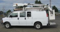 2008 Chevy G3500 Bucket Van in Oregon $24,000