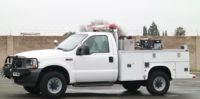 2003 Ford F350 4×4 Brush Truck in California $30,000