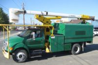 2008 Ford F750 HIRANGER 60′ Forestry Bucket Truck in Oregon $47,500