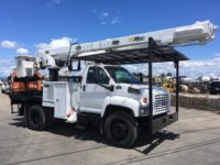 2008 GMC 62′ Altec Flatbed Bucket Truck in Oregon $50,000