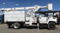 2008 GMC 75′ Altec Elevator  Forestry Bucket Truck in Oregon $85,000