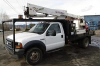 2006 Ford F550 4×4 Hiranger Forestry Bucket Truck in Oregon $22,000
