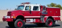 2000 IHC 4900 Type III 4×4 Fire Truck in California $91,000