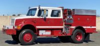 1995 IHC 4800 Type III 4×4 Fire Truck in California $69,000