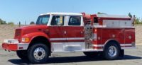 1994 IHC 4800 Type III 4×4 Fire Truck in California $69,000