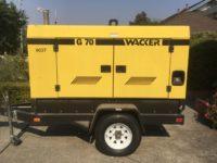 1998 Wacker G70 Kw Diesel Generator in Oregon $25,000